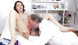 Nude doctor porn movies with babes getting examined during deep sex